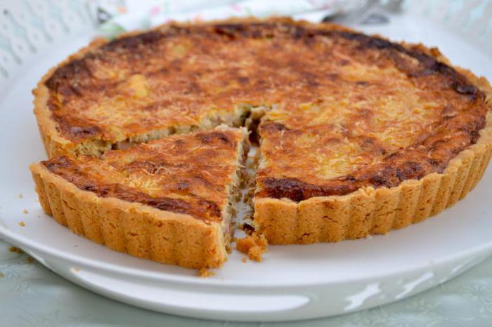 Пирог с рыбой простой рецепт с фото