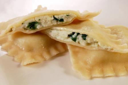 равиоли с сыром