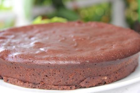 шоколадный бисквит без муки
