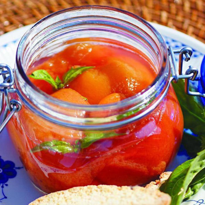 помидоры с корицей рецепт