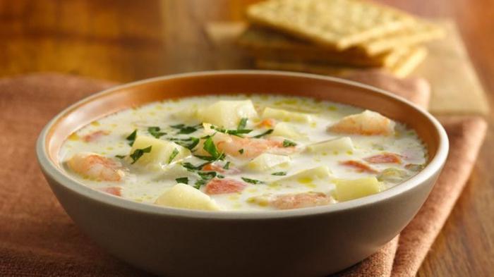 рецепт супа с креветками самый вкусный
