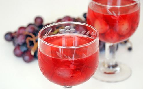 компот из винограда на зиму простой рецепт