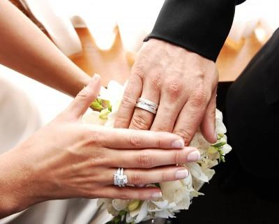 На какой палец одевают кольцо на свадьбе