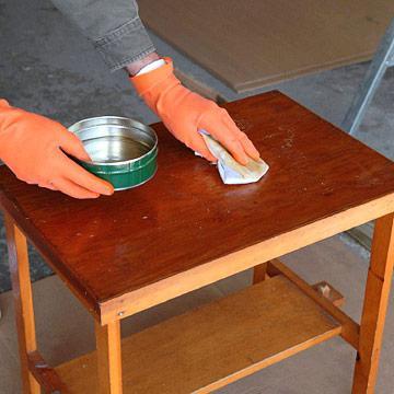 Как сделать лакированную поверхность матовой