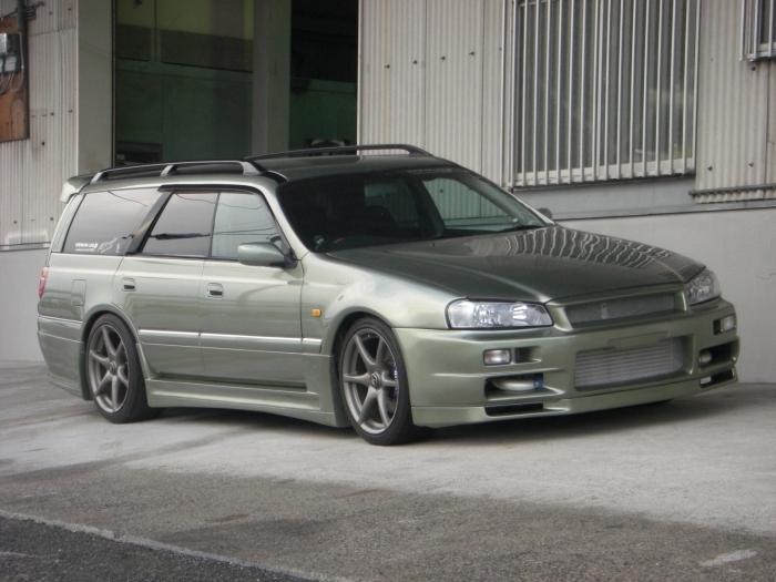 Обзор Nissan Stagea