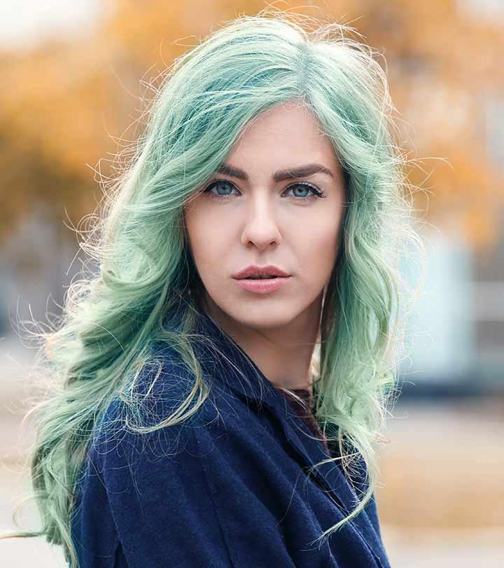 Зеленый тоник для волос: какой выбрать? Красим волосы вместе