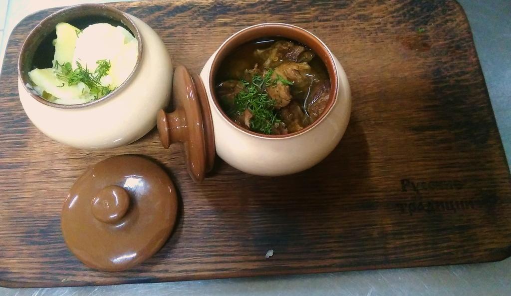 Тавранчук древнерусское мясо в квасе