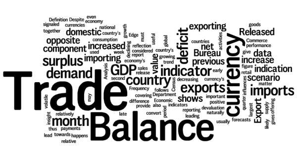Foreign trade balance