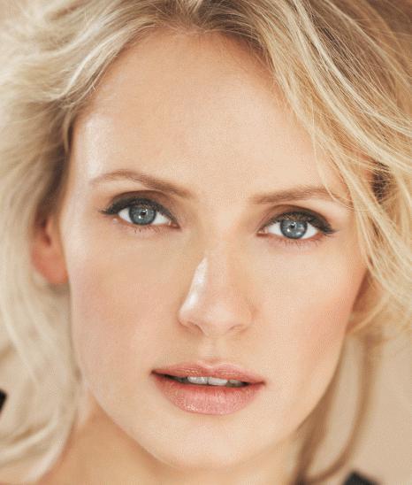Какой макияж для блондинок с серыми глазами