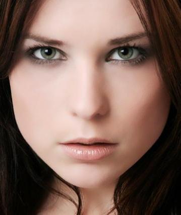 Мейкап для зелено-серых глаз знаменитостей