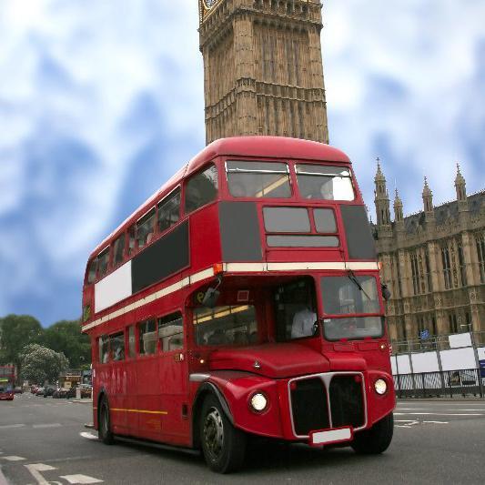 Двухэтажный автобус Лондона