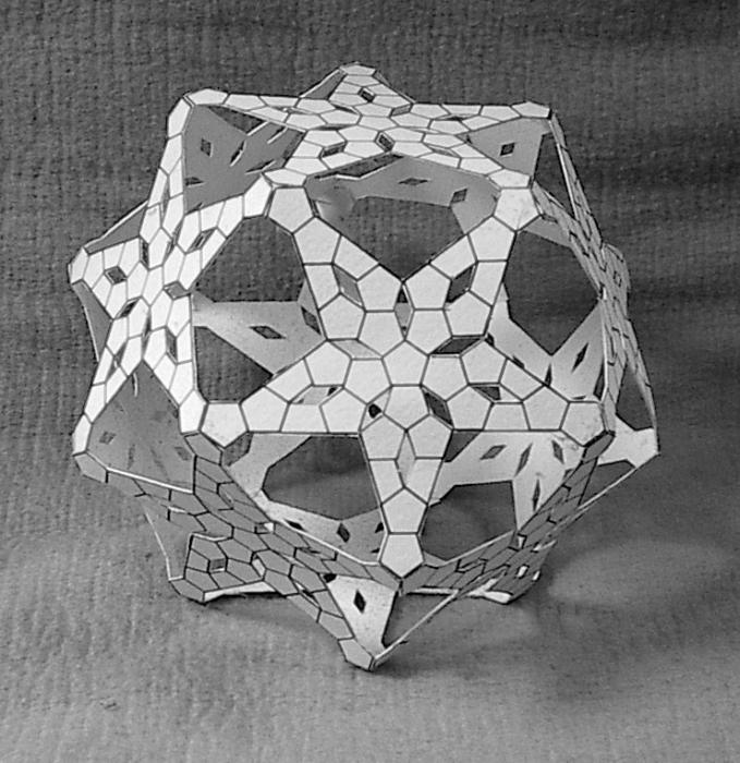 как сделать додекаэдр из бумаги