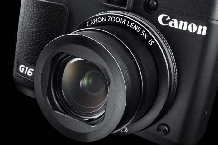 фотоаппарат Canon G16