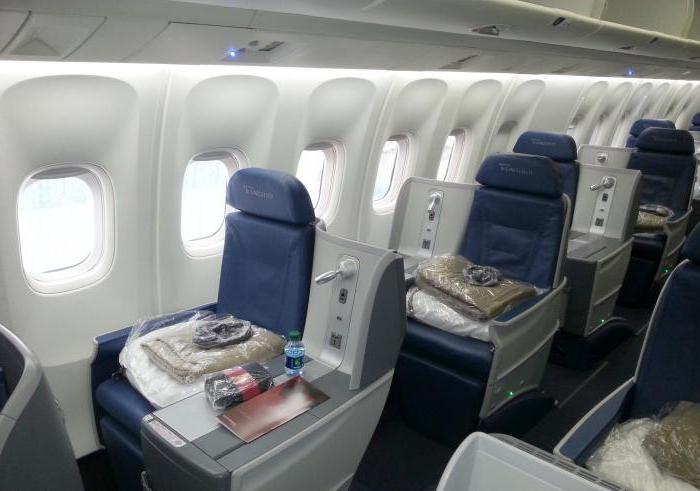 боинг-767-300 фото салона