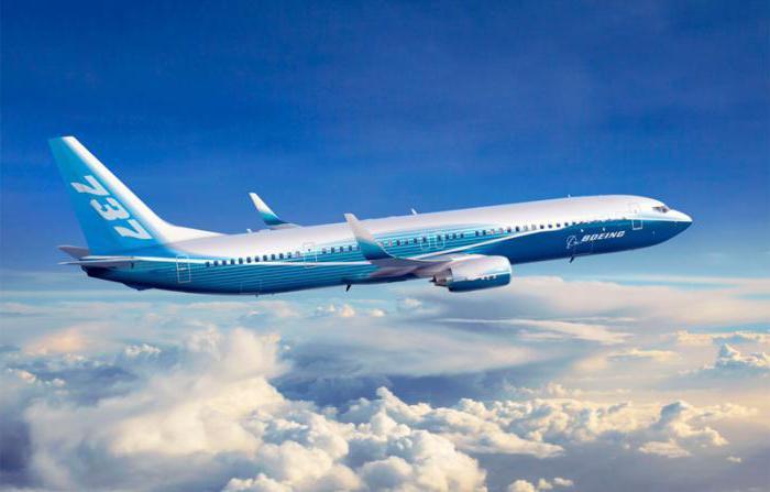 Обзор самолета Boeing 737-800