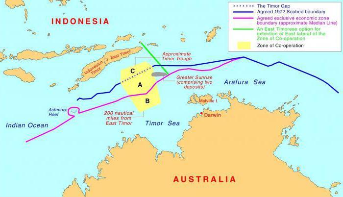 где находится тиморское море