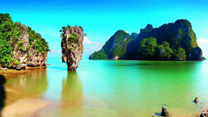 Остров джеймса бонда в тайланде экскурсии турпакет тайланд