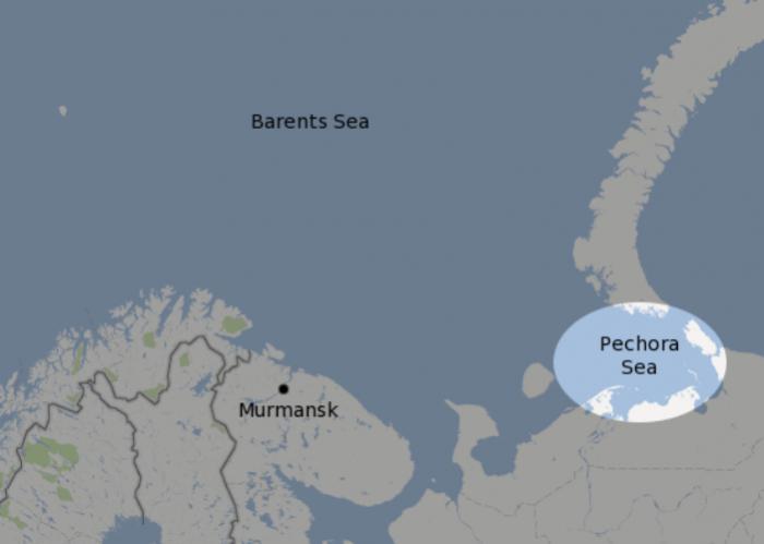 Где находится Печорское море