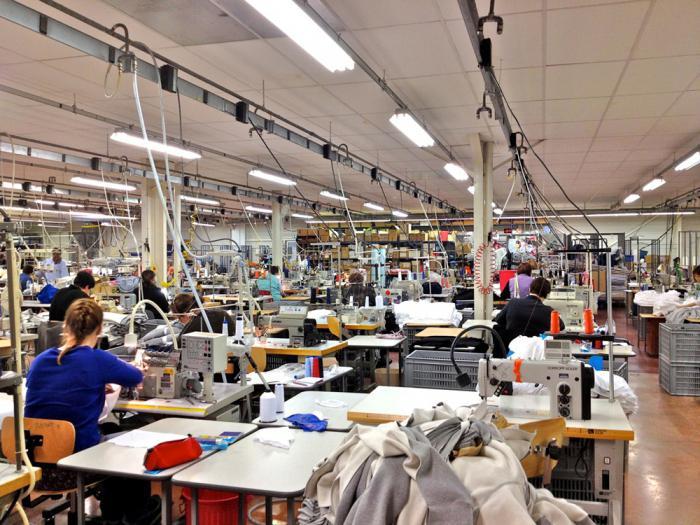 легкая промышленность Франции
