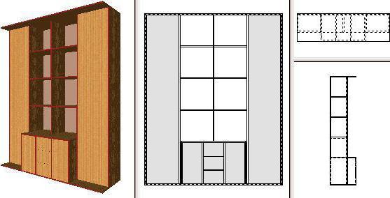 pro100 проектирование мебели
