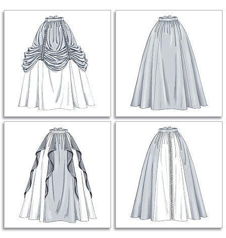 Длинная юбка в пол выкройка