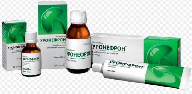 уронефрон таблетки инструкция по применению цена - фото 3
