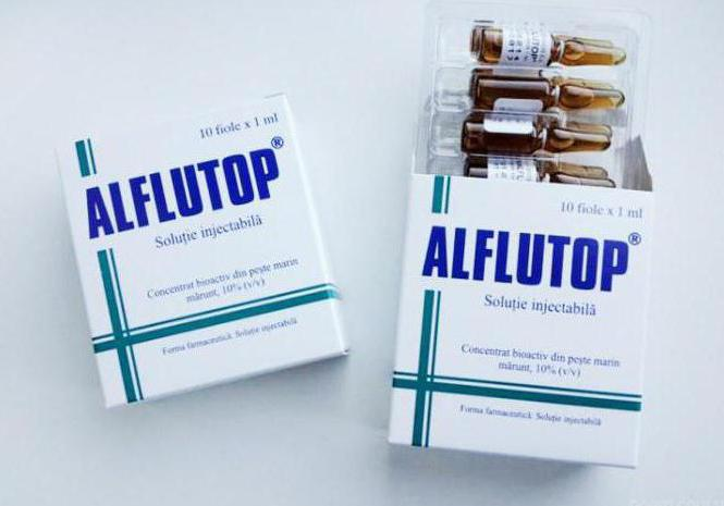 лекарство алфлутоп отзывы