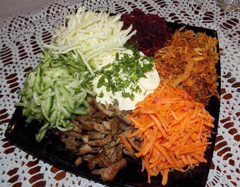 салат по татарский рецепт с фото