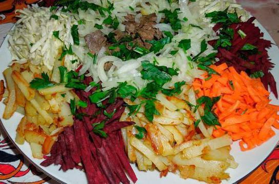 Салат азу рецепт