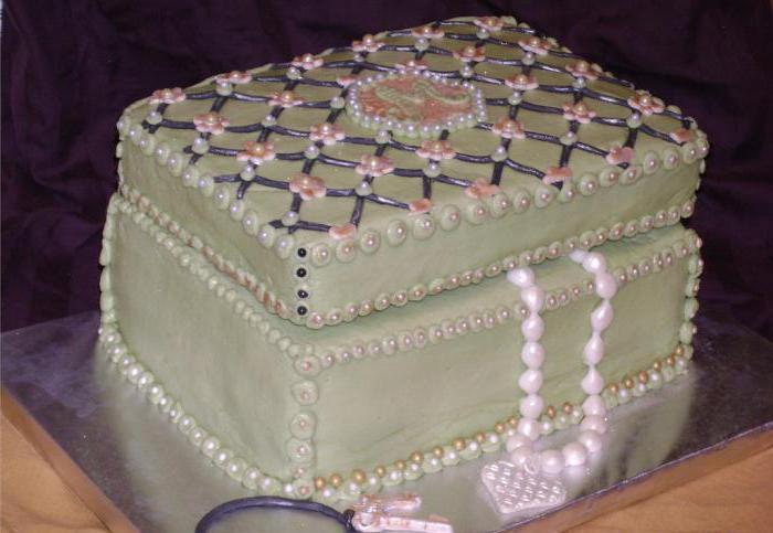 торт шкатулка из мастики