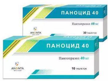 таблетки паноцид 40 инструкция от чего img-1