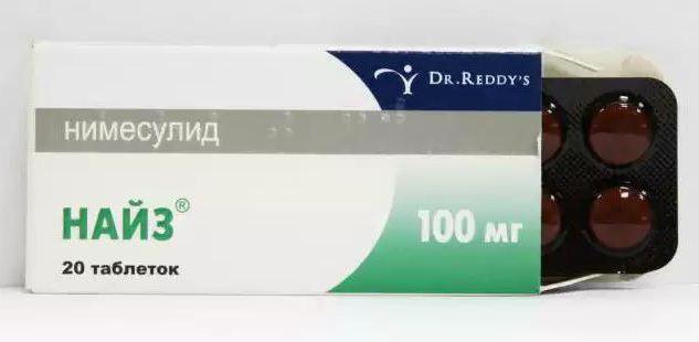 от чего помогает найз таблетки