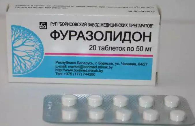 Фуразолидон при цистите инструкция по применению
