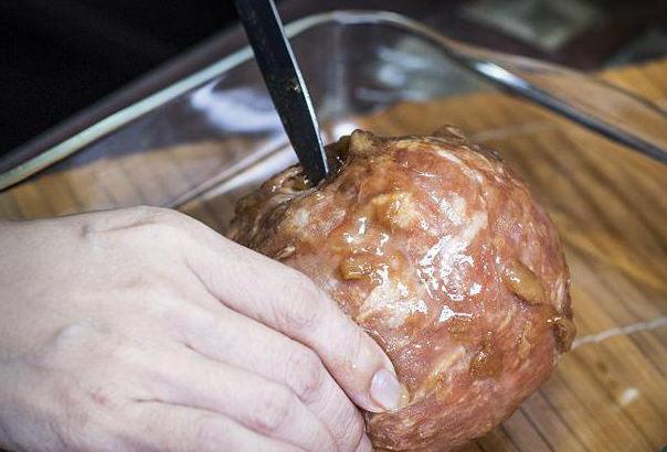 рецепты приготовления ветчины в ветчиннице