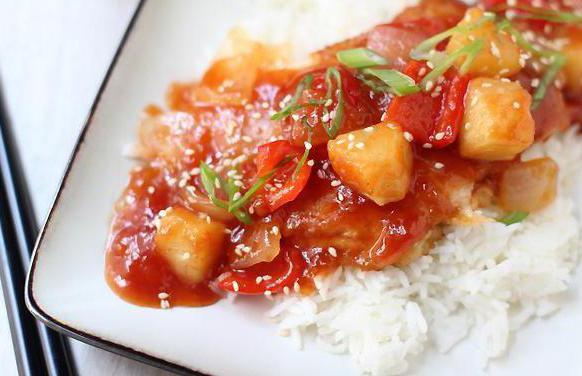 кисло сладкий соус для курицы лучший рецепт