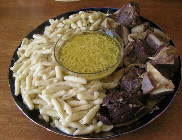 Национальные чеченские блюда рецепты 21