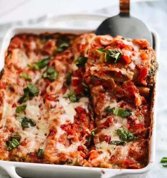 Лазанья рецепт из спагетти с фаршем