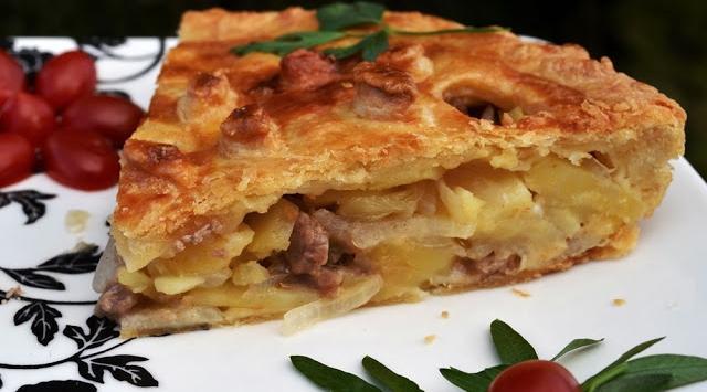 мясо с картофелем в духовке рецепт с фото из свинины видео