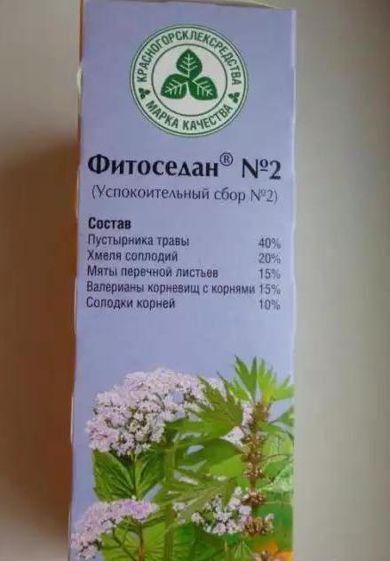 Травяной успокоительный сбор «фитоседан» (состав, инструкция по.