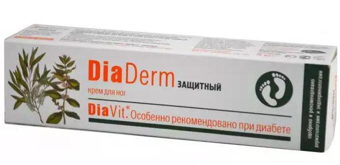 крем диадерм для диабетиков