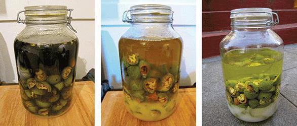 как сделать ореховую настойку