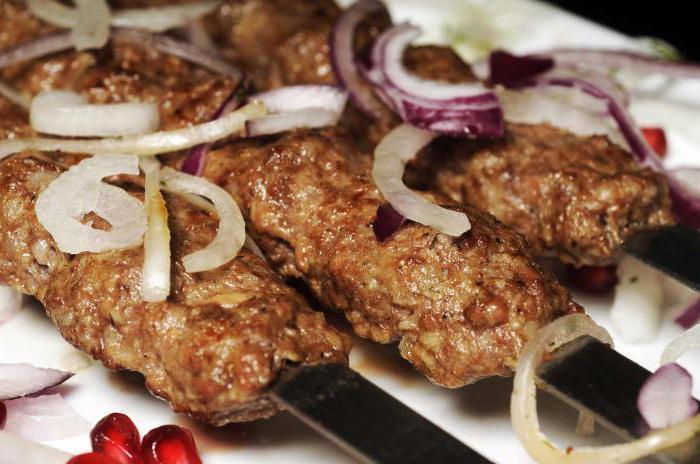 Люля кебаб из фарша рецепт