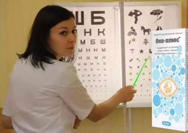препарат для глаз око плюс