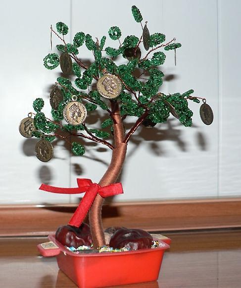 Денежное дерево из монет своими руками все