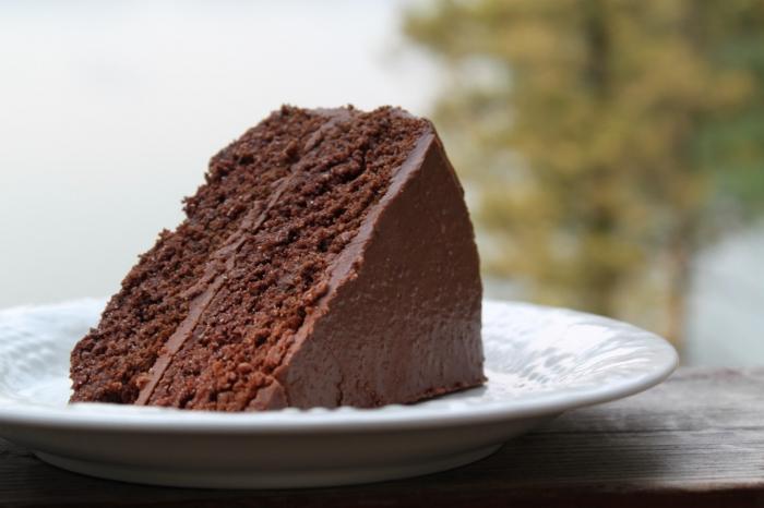 Лучший рецепт шоколадной глазури для торта