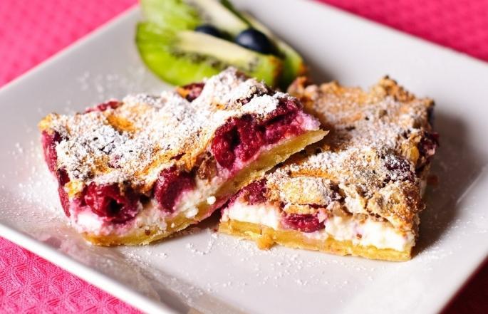 Пирог с вишней и рецепты с