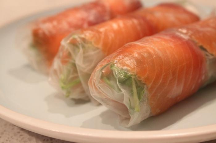 Блюда в рисовой бумаге рецепты