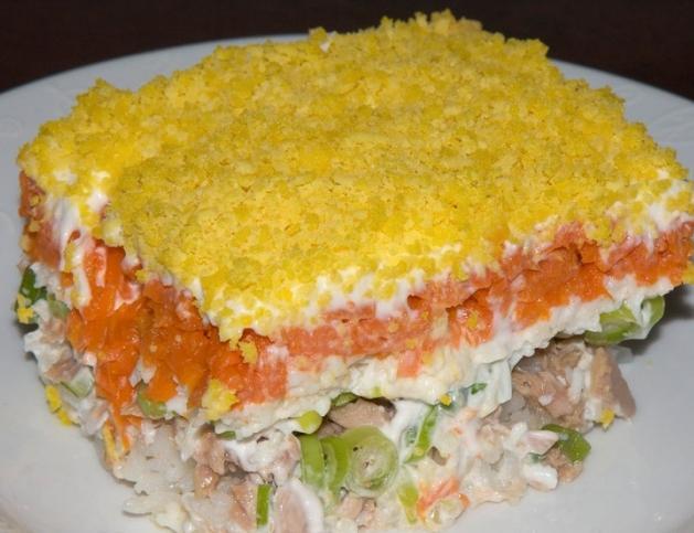 мимоза рецепт салата пошаговый рецепт