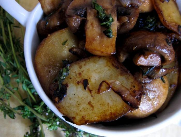 Рецепты грибы на сковороде
