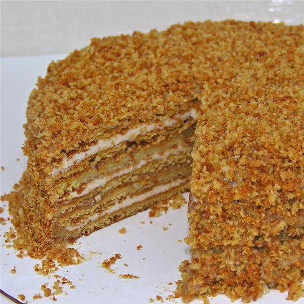 медовый торт простой и вкусный рецепт чернова